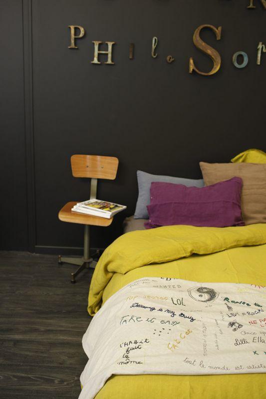 Bed and philosophy marre des epinards - Housse de couette fluo ...